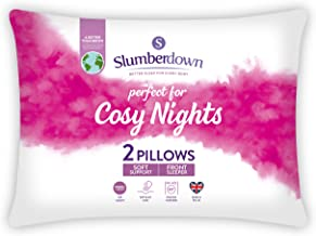 Slumberdown Cosy Nights kussen, wit, standaard, 2