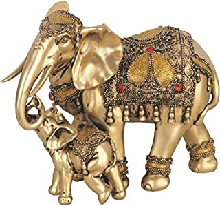 George S. Chen Imports SS-G-88043 Thai Elephant Buddha Buddhist Collectible Statue..