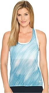 Nike Womens Breathe Printed T-Back Tank Top