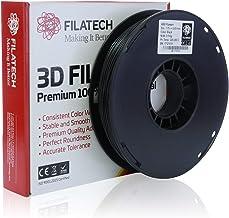 Filatech ABS Filament, Black, 1.75mm, 0.5KG