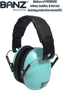 Baby BanZ Kids Earmuffs, Turquoise