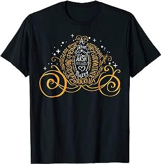 Cinderella Halloween Pumpkin Coach Graphic T-Shirt