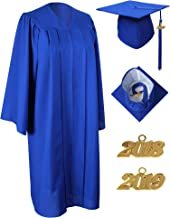 MyGradDay Matte Graduation Gown Cap Tassel 2019 Set for Bachelor and Ceremony