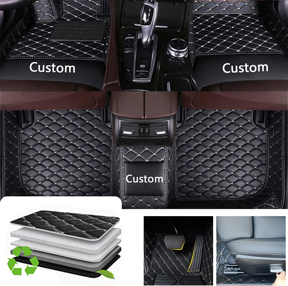Awotzon Custom Car Floor Mats for Memphis Regular store Mall Explorer Focu Fiesta Ford Edge