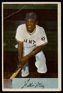 Baseball MLB 1954 Bowman #89 Willie Mays G/VG Good/Very Good NY Giants