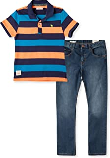 OFFCORSS Polo Shirts Jeans for Boys
