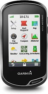 Garmin 750T 3 英寸触摸屏手持式 GPS 带 Topo 美国 100K010-01672-33 Topo Canada 1.5 黑色