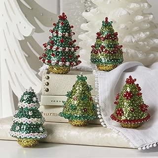 Sunrise Craft & Hobby Festive Holiday Trees Sit Set Ornament Kit