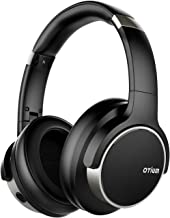 Otium Noise Cancelling Headphones, Wireless Headphones Over Ear Bluetooth Headphones with Mic Deep Bass, Foldable Comfortable Earpads 30H Playtime for Travel/Work/TV/Computer/Cellphone