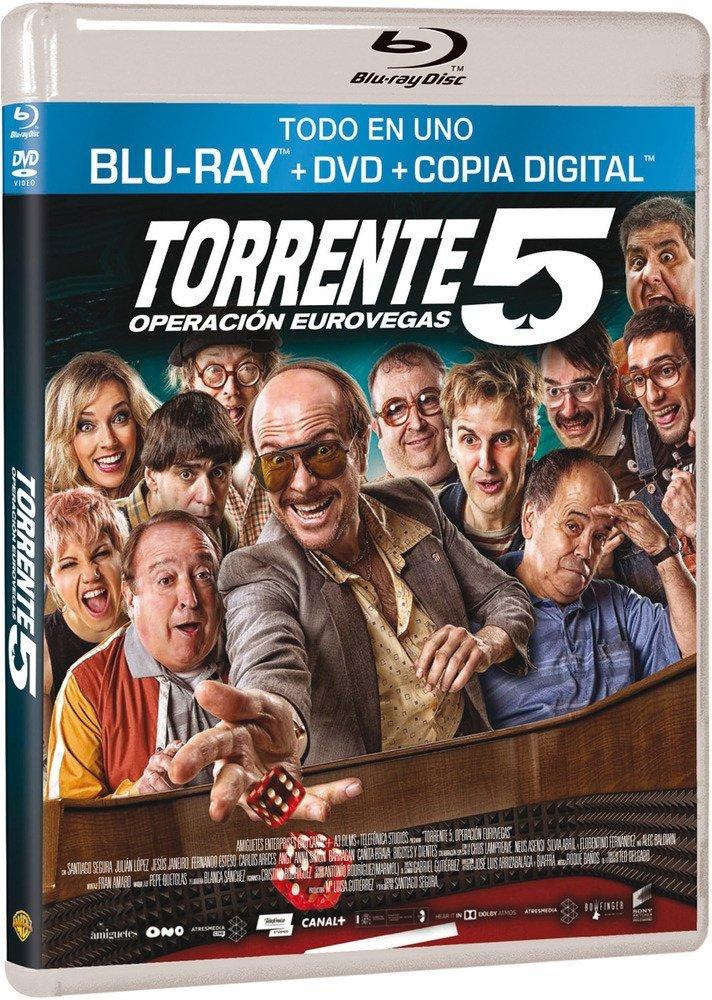 Amazon Com Torrente 5 Operation Eurovegas 2014 Torrente V Mision Eurovegas Operation Euro Vegas Digital Copy Blu Ray Dvd Combo Blu Ray Reg A B C Import Spain