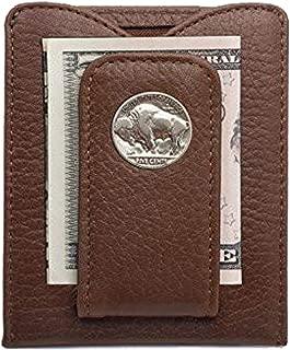 Buffalo Nickel Money Clip Wallet - Tan (80B-TAN)