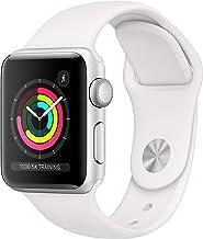 Apple Watch Series 3 Reloj Inteligente Plata OLED GPS (satélite) - Relojes Inteligentes (OLED, Pantalla táctil, GPS (satélite), 18 h, 26,7 g, Plata)