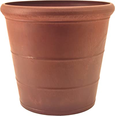 PSW NUR28TC Drop Planter, 11.5 by 10.5-Inch, Terra Cotta