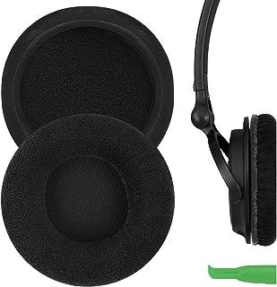 Geekria Comfort Velour Replacement Ear Pads for Sony MDR-V150 V200 V250 V300 V400 ZX300 Headphones Earpads, Headset Ear Cu...