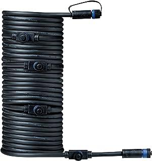 Paulmann 939.30 Outdoor Plug & Shine Connector 10 m 1 in-5out IP68 2 x 1,5 mm² 93930 przedłużacz, kabel połączeniowy, oświ...
