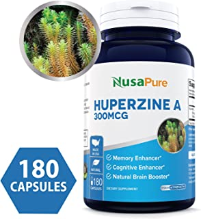 Best pure huperzine a Reviews