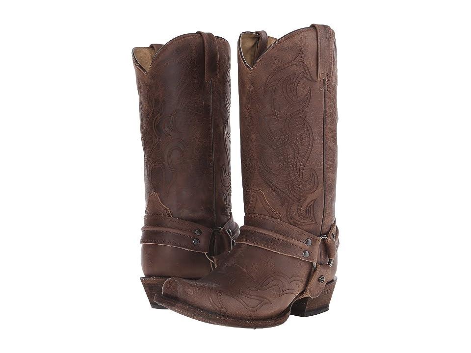 Roper Hurricane Bandit (Brown) Cowboy Boots