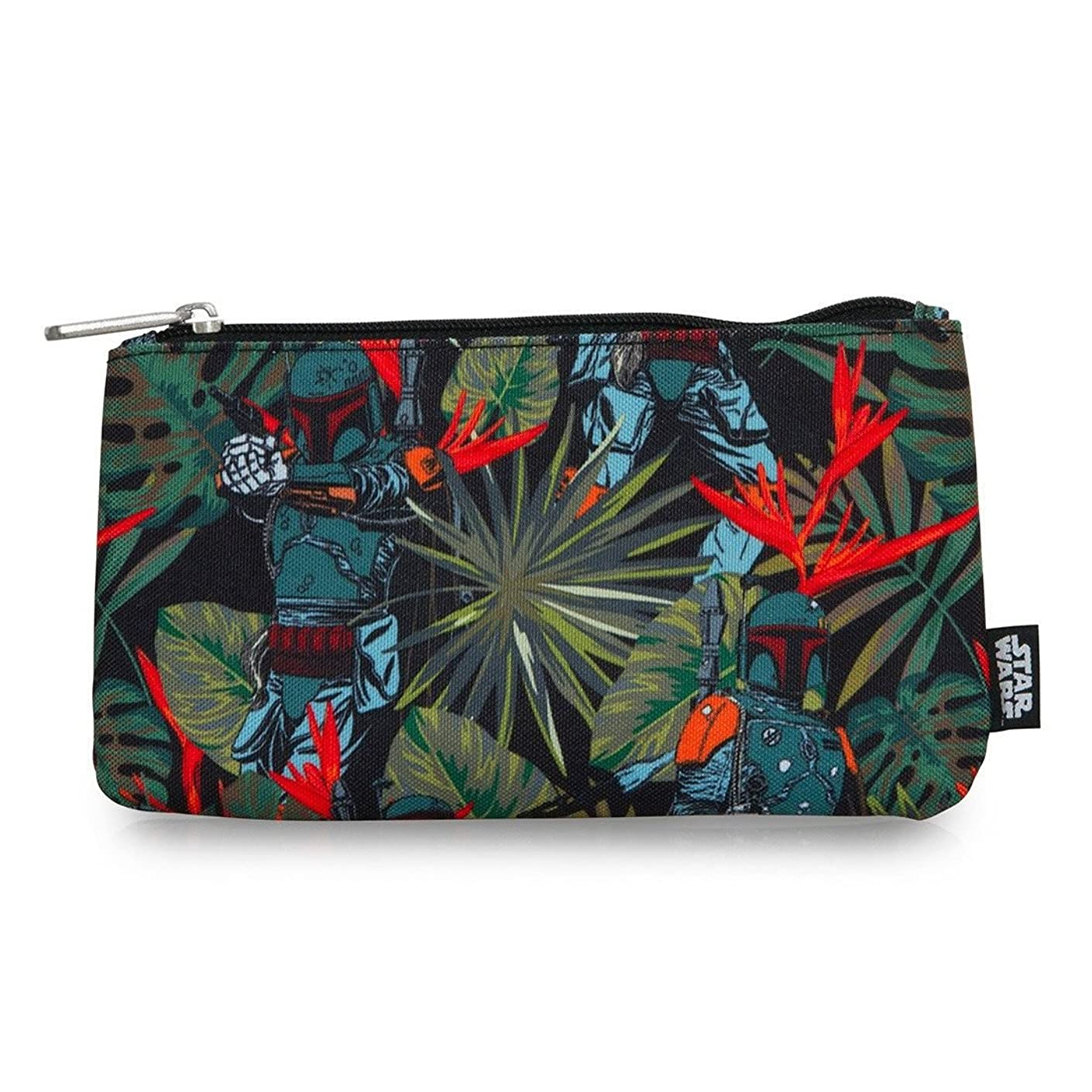 Star Wars Boba Fett Bright Leaves AOP Pencil Case