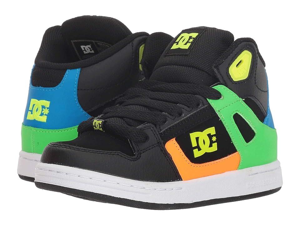 DC Kids Pure High-Top SE (Little Kid/Big Kid) (Black Multi) Boys Shoes