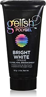 Gelish PolyGel Nail Enhancement Bright White Opaque - 60g