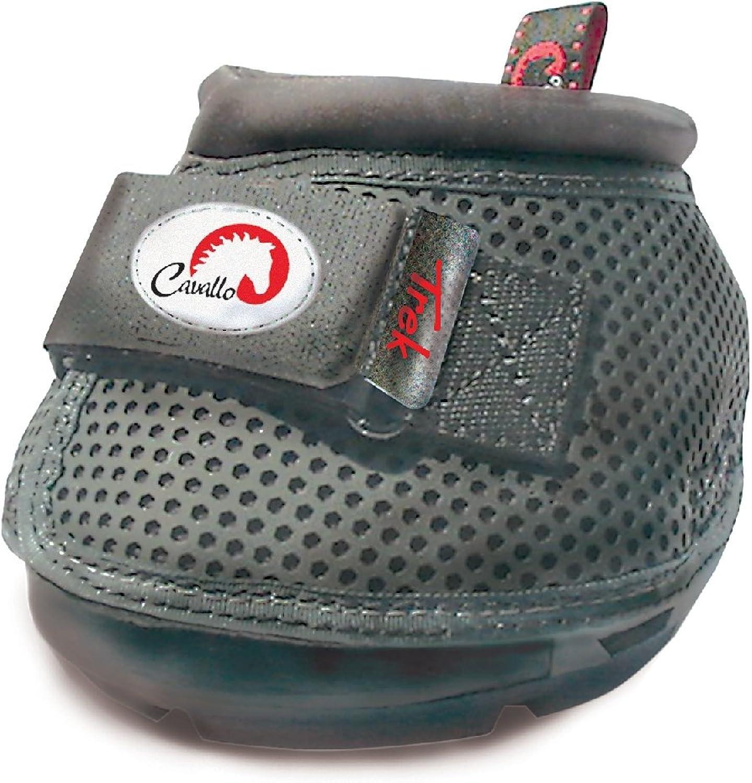 Cavallo Horse & Rider Trek Slim Sole Hoof Boots, Size 4