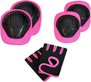 EEDAN Kids Protective Gear - Child's Pad Set with Knee Elbow and Gloves for Biking Skating Riding Cycling Bike Rollerbladi...