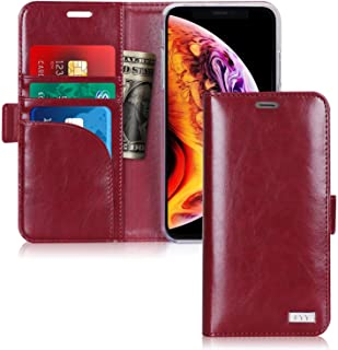 iPhone XR Case, Fyy iPhone XR Wallet Case Premium PU Leather with [Card Slots] Protective Cover Flip Case for Apple iPhone...
