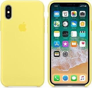c9e539c75e3 El último Verano Funda iPhone X, Slim Líquido de Silicona Gel Carcasa  Anti-Rasguño