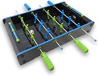 Real Wood Toys Neon Table Top Foosball for Kids and Adults