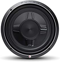 """Rockford Fosgate P3SD2-10 Punch P3S 10"""" 2-Ohm DVC Shallow Subwoofer"""