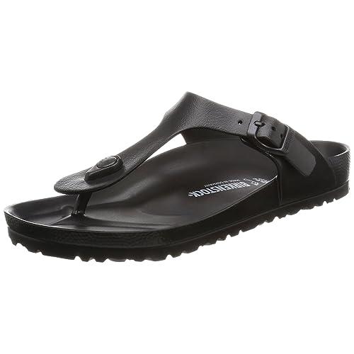 save off quality design fresh styles Black Birkenstocks: Amazon.co.uk
