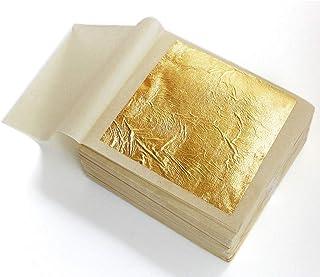 Pure 24k Gold Leaf Sheet Book Food Grade Edible Decorating Art Craft 4.3*4.3cm (20pcs)