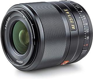 VILTROX AF 23mm F1.4 E 単焦点レンズ ソニー Sony Eマウント ミラーレス用 プライムレンズ 瞳AF 大絞り 軽量 コンパクト 手ぶれ補正 ポートレート/スタジオ撮影/風景/建築/夜景 a6500/a6600/a7II...