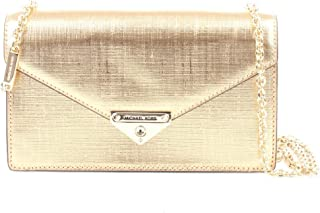 MICHAEL KORS Womens Medium Envelope Clutch Bag, Pale Gold - 30H9LargeHC6M