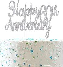 diamond anniversary cake topper