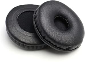 Replacement Earpads Leather Ear Cushions Spare Ear Pads Kit fit for Most Headphone Models: AKG,HifiMan,ATH,Philips,Fostex,...