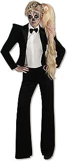 Rubie's Womens Lady Gaga Tuxedo Sexy Costume