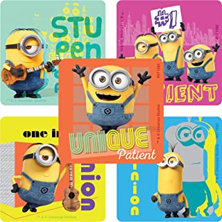 SmileMakers Minions Patient Stickers - Prizes 100 per Pack
