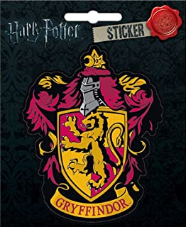 "Ata-Boy Harry Potter Gryffindor Crest 4"" Full Color Sticker"