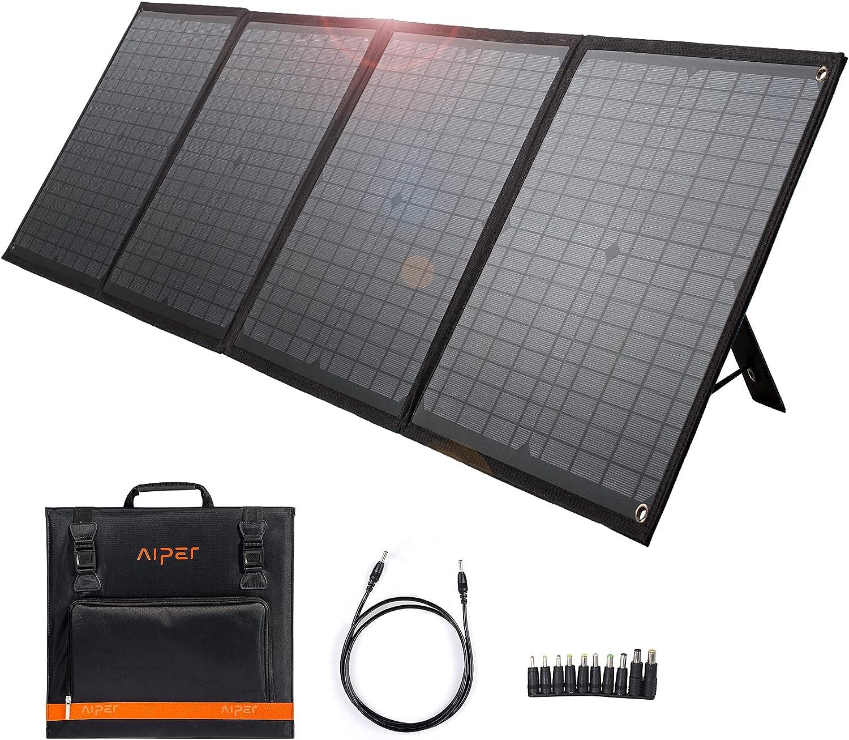 Aiper 60W Portable Foldable Solar Panel $88.05 Coupon