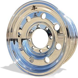 """Alcoa 16"""" x 7"""" Classic 8 Aluminum 8 Lug Single Rear BUDD Polished Wheel (167041)"""
