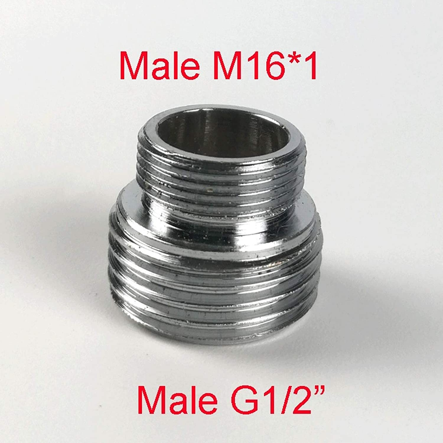 For Male And Female G1 // 2pipe Fitting Water Purifier Fittings M16 M24 M18 M20 M32 G3 // 4 Faucet Aerator Size : M28xMDN15 Chrome-plated Brass Adapter