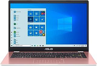 لاب توب اسوس E410 14 بوصة HD (1366x768) LED مضاد للتوهج، انتل سيليرون N4020، 4GB DDR4، 128GB eMMC، واي فاي، HDMI، أرقام، ق...