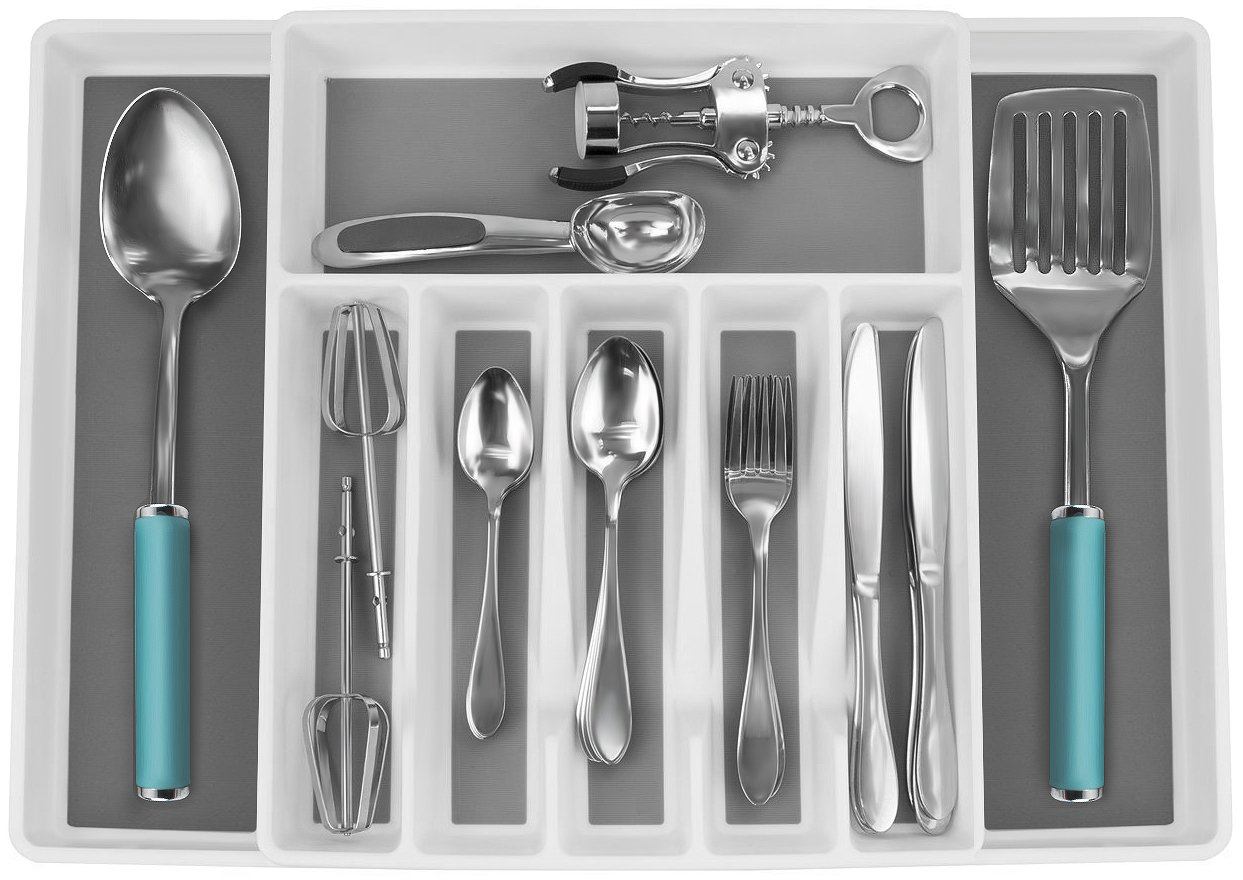 Sorbus Organizer Expandable Silverware Multi Purpose