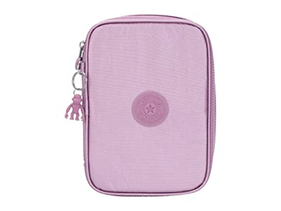 Kipling 100 Pens Case (Metallic Berry) Travel Pouch