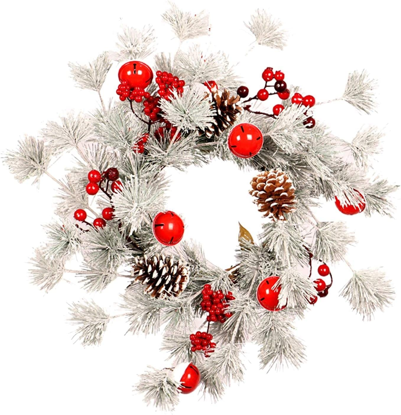 Wreath Front Now on sale Door Christmas with Decorations Great interest Artificial Bell Ho