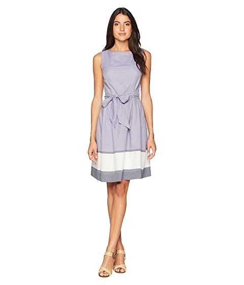 Anne Klein Border Printed Fit Amp Flare Dress At 6pm