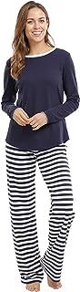 jijamas Incredibly Soft Pima Cotton Women's Pajamas Set - The Soul Mate