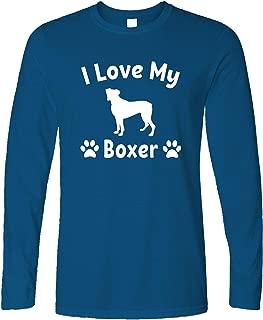 Uomo Giacca College Cani Razza-Cane Boxer-regalo razza Cane Motivo