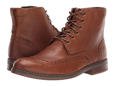 Rockport Colden Wing Tip (Dark Tan) Men